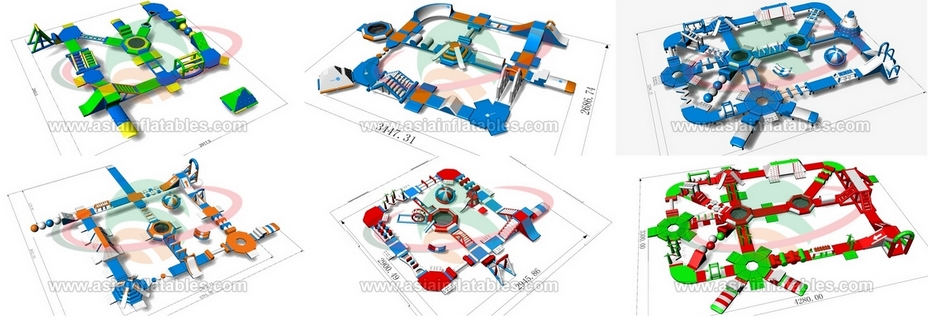 Inflatable Water Park Designs