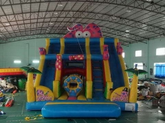 Loch Ness Monster inflatable playground