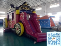 Princess Carriage Castle Combo