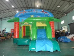 Jungle Bounce House Slide Combo