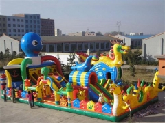 Dragon Fun House e Octopus Slide Combo