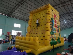 Inflatale rock climbing wall