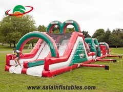 Slide & obstacle combo